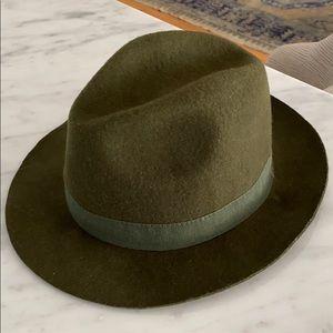 J Crew Olive Hat S
